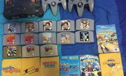 Nintendo 64 Accessories: Console Only (No Cords or