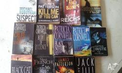 13 Novels including Patricia Cornwell - Cruel and