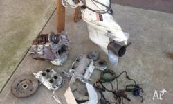 140 Johnson Sea-horse. Motor not complete, only parts
