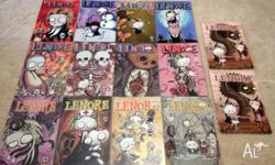 14 Lenore Comics Includes issues 1-13, and a second