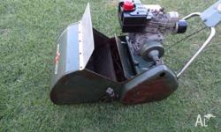I have a Scot Bonner Reel Mower for sale Engine: 3HP