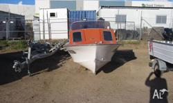 14ft Cuddy Cab Fibreglass 70hp Johnson No Trailer Sold