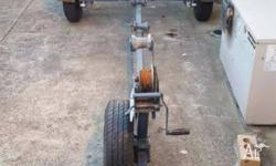 Very solid Dunbier boat trailer to suit Tinnie up to