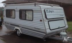 14ft Jayco 'Classique' pop top 1991 model, full annex,