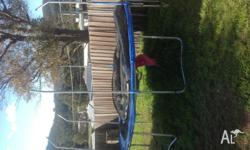 I have for sale my 14ft trampoline in used condition,