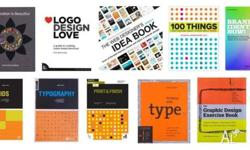 I'm selling my graphic design books worth 500AUD for