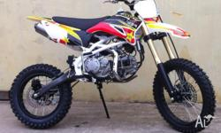 WE HAVE IN STOCK FUSE 155CC BIGWHEEL PIT BIKES. LIFAN