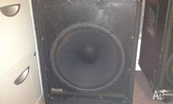 "15"" 400W Bass guitar speaker box. This will give you"