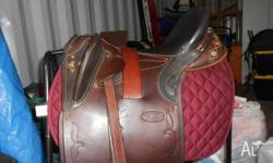 BRAND NEW NORTHERN RIVER 15 INCH STOCK SADDLE PERFECT