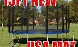 15FT Trampoline - Features & Benefits: FREE Anchor Kit