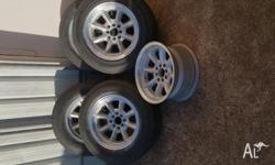 Set of 5 (1x without Tyre) Speedy Performance Rims.