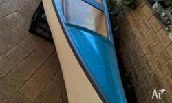 For sale 16 foot Canadian Canoe fiberglass and timber