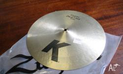 "Brand new, never used: 16"" Zildjian K Custom Dark Crash"