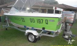 Sportsman Craft Runabout great fishing or skiing boat,