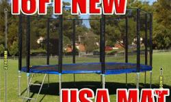 16FT Trampoline - Features & Benefits: FREE Anchor Kit