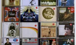 16x CD collection. Australian artists including Delta