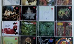 16x CD collection. Chillout music including Enya, Deep