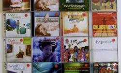 16x CD collection. Compilations including Chillout,