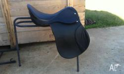 "17"" All Purpose saddle, excellent condition, haredly"
