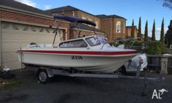 Up for sale is my swiftcraft tempest runabout 17ft,