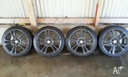 Hi, I have 17 inch mags and tyres forsale. The rims are