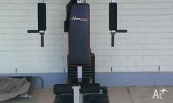 180lb Home Gym By Healthstream Buyer to dismantle