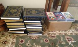 18 books the world encyclopedia internanional very good