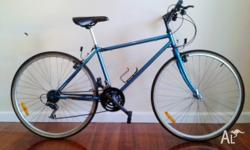 18 speed City Hybrid bike with a high-quality,