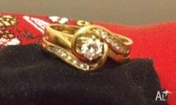 This ring set has been certified and valued at