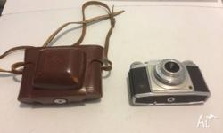 I have for sale a 1950 agfa silette prontor svs camera