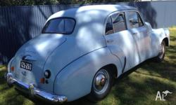 1952 FX Holden, Duck Egg Blue. All original except