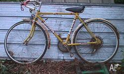 This bike is for the collecter, it is in need of