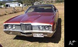 1072 ford ltd galaxie origanal 4door pillarless 351 v8