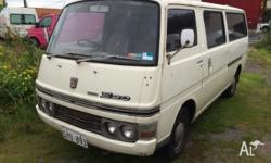 AS traded. Has rego and drives well. Great classic van.