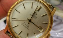 1976 Genuine Omega Seamaster / no band and the back has