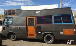 FOR SALE AWSOME TOYOTA COASTER BUS/CAMPER** With a