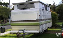 For sale is a 1980 millard caravan. This has been a