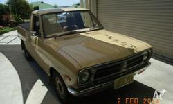 Datsun 1200 ute Excellent original condition Three