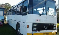 1983 mercedes bus rego 17/11/13 rego number ew 0130 a1