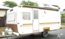 Year: 1984 Single Axle, Shower, Porta Potti, Roll Out