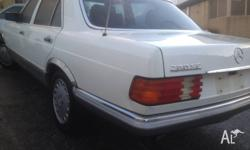 Mercedes Benz 280 SE 1984 model,W126 running and