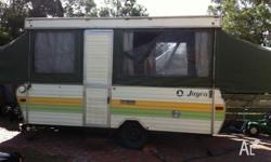 Old Jayco Swan Great for family camping trips and we