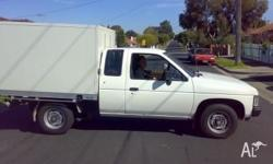Refrigerated unit on back of ute (worth more than the
