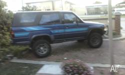 I HAVE A 1986 TOYOTA 4RUNNER 2 DOOR WITH A 2.4L NON