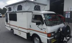 Very rare camper. Factory built by Mazda with