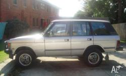 1989 Range Rover Voge, good condition, electric