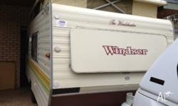 1989 Windsor Wincheater caravan for sale. Good