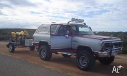 1990 DODGE RAMCHARGER 360 mopar v8 vagas import big