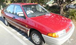 1990 Ford laser with only a mere 29000 klms on the