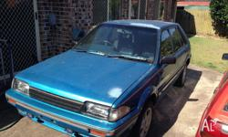 Holden Astra Hatchback. Sold as is, where is. Please